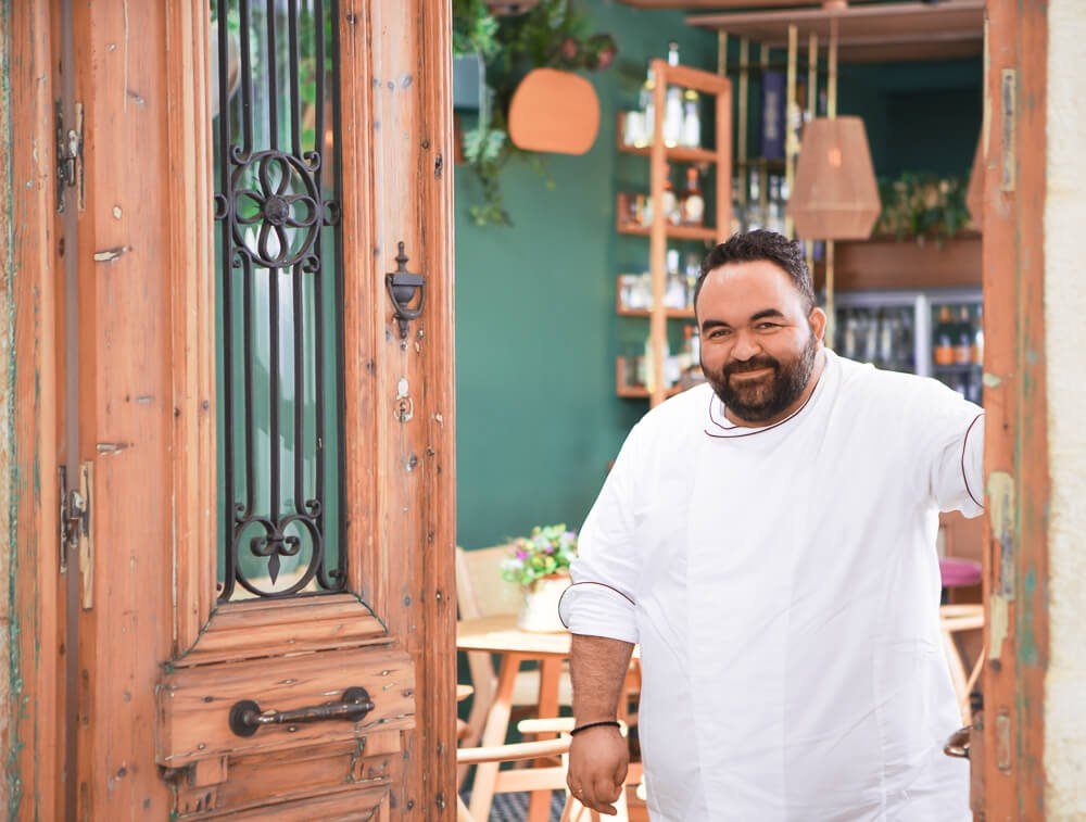 our chef yannis kornaros dish bar